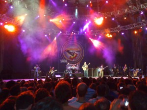 DMB in concerto ieri sera a Lucca