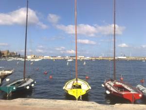 Lance pantesche nel porto di Pantelleria