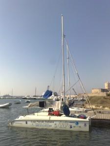 Piccoli catamarani per mare